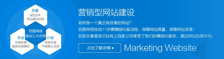 秦皇岛营销型网站制作建设